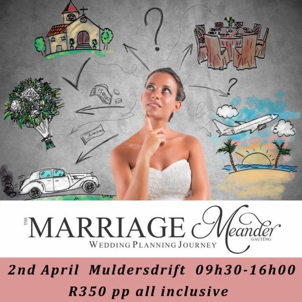 Marriage Meander Journey 24th March 17