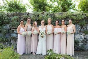 bridesmaid mix and math