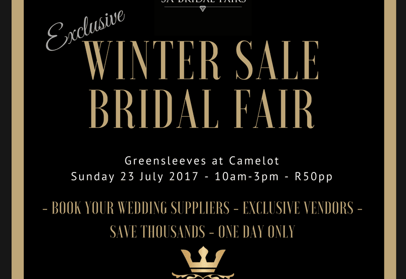 CAMELOT BRIDAL FAIR July 2017