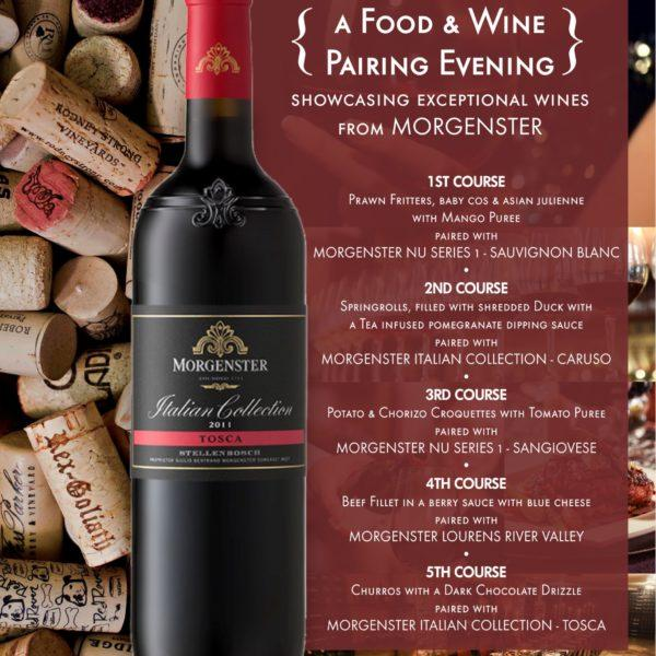 Morgenster Food and Wine Pairing – Casa Toscana