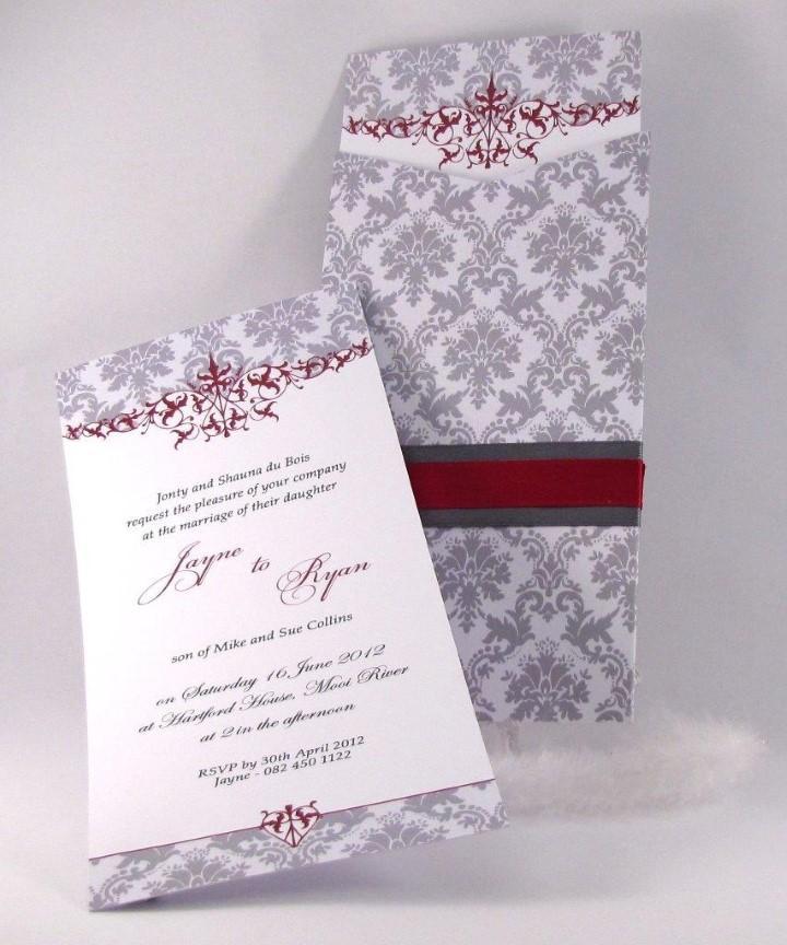 KZN Wedding Invitations